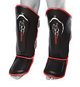 Захист гомілки і стопи  PowerPlay 3052 Чорно-Червоний XL
