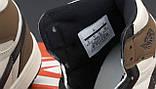 Мужские кроссовки в стиле Nike Air Jordan 1 Retro (brown), Найк Аир Джордан 1 ретро (Реплика ААА), фото 6