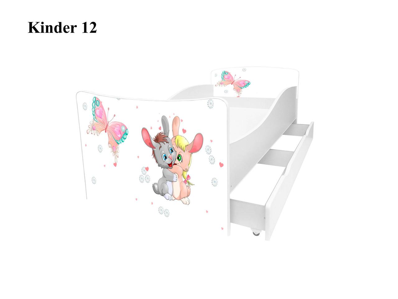 Детская кровать Киндер 12.