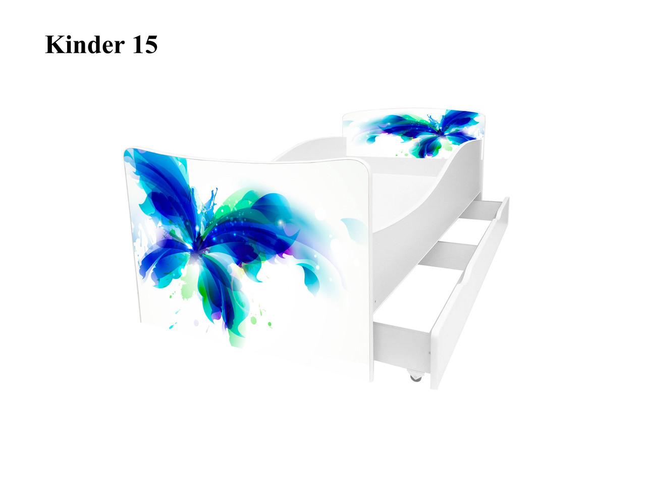 Дитяче ліжко Кіндер 15.