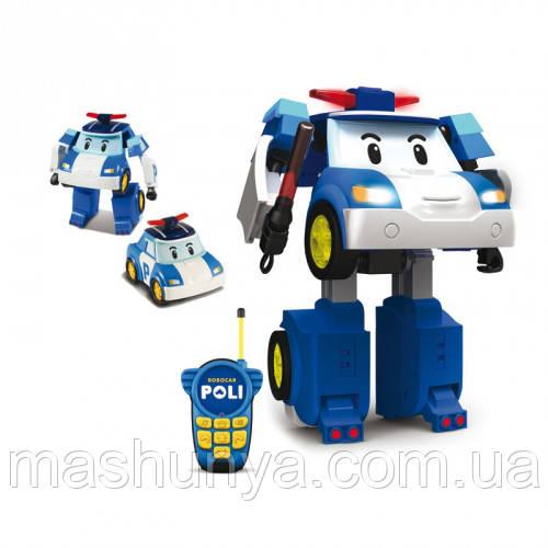 Robocar Poli Трансформер Поли с пультом управления 83185 Пром