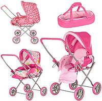 Детская коляска для куклы и пупсов