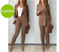 """Брючный костюм с удлиненным пиджаком """"Lukas""""  Норма  Распродажа модели, фото 1"""
