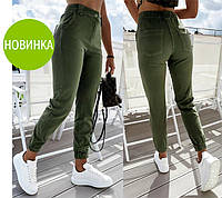 "Женские брюки джоггеры ""Elias""| Батал, фото 1"