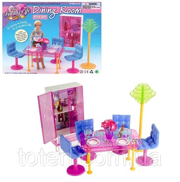 """Набор кукольной мебели Gloria 2912 """"Обеденная комната"""""""