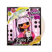 Кукла LOL Surprise OMG Remix series 4 Kitty K Королева Китти ЛОЛ Ремикс ОМГ с музыкой 567240