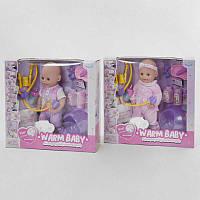 Пупс функціональний Набір доктора Дитячий пупсик, лялька, іграшка, подарунок для дівчинки