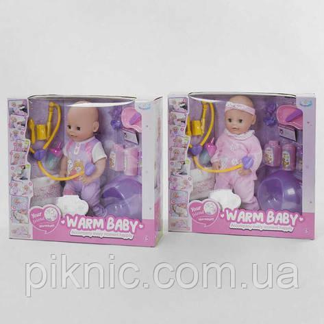 Пупс функциональный Набор доктора Детский пупсик, кукла, игрушка, подарок для девочки, фото 2