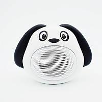 Портативная музыкальная колонка собачка MB-M818 MB-M818(White)
