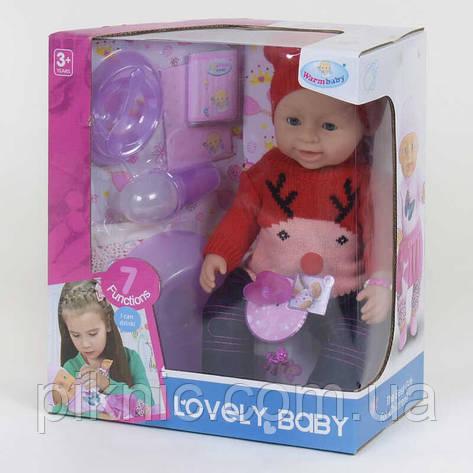 Милый функциональный пупс для девочки, 8 функций Детский пупсик, кукла, игрушка, подарок, фото 2