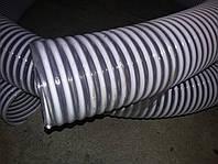 Рукав 75(76) мм ПВХ гофра, напорно-всасывающий пищевой