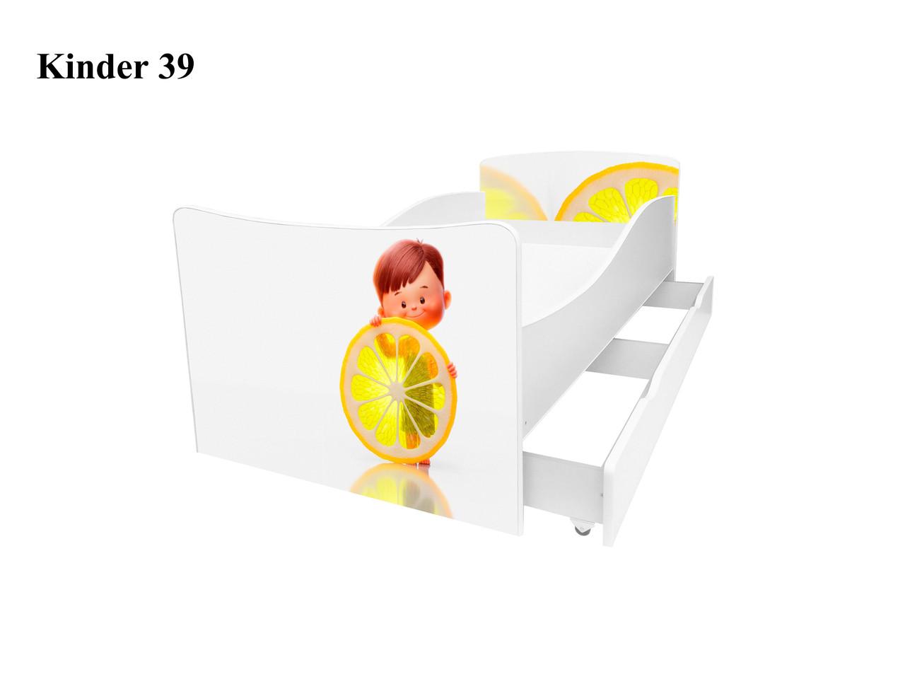 Детская кровать Киндер 39