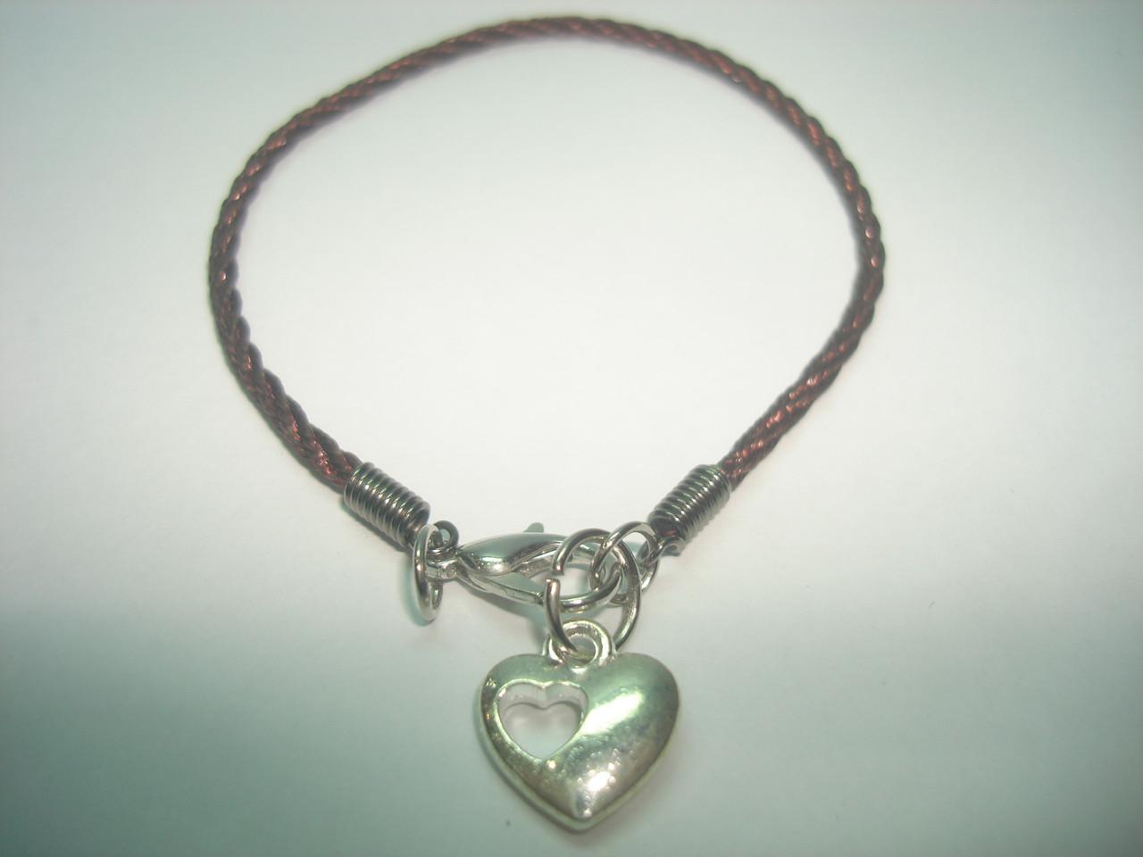 Коричневая нить Каббала «Сердце»