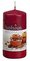 Свеча запеченное яблоко ароматическая Bolsius 12 см (60/120-91+З)