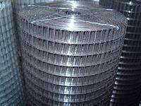Сетка сварная рулонная оцинк 25х12х0,7