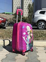Пластиковый чемодан для ребенка Холодное сердце, фото 3