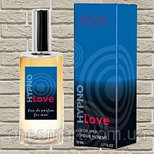 """Туалетна вода з феромонами для чоловіків """"Hypno Love"""" від RUF, 50 мл."""