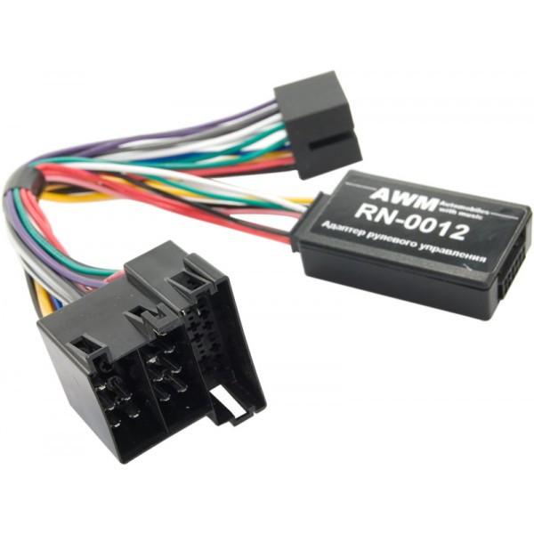 Адаптер кнопок на руле AWM Renault (RN-0012)