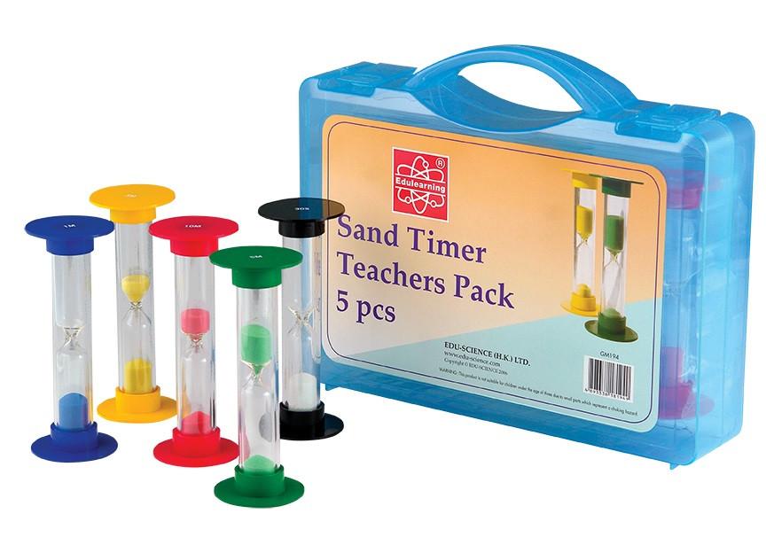 Обучающий набор Песочные часы для учителя, 5 шт. Edu-Toys (GM194)