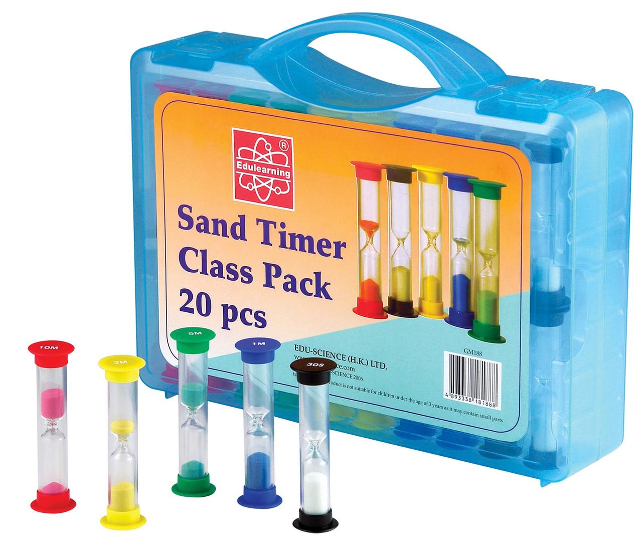 Обучающий набор Песочные часы на класс, 20 шт. Edu-Toys (GM188)