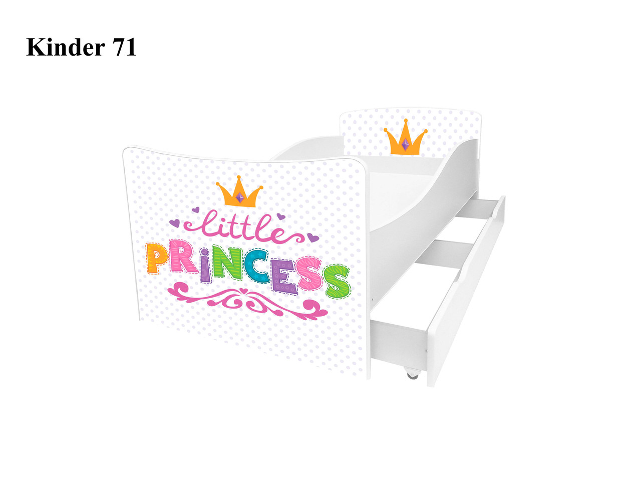 Детская кровать Киндер 71