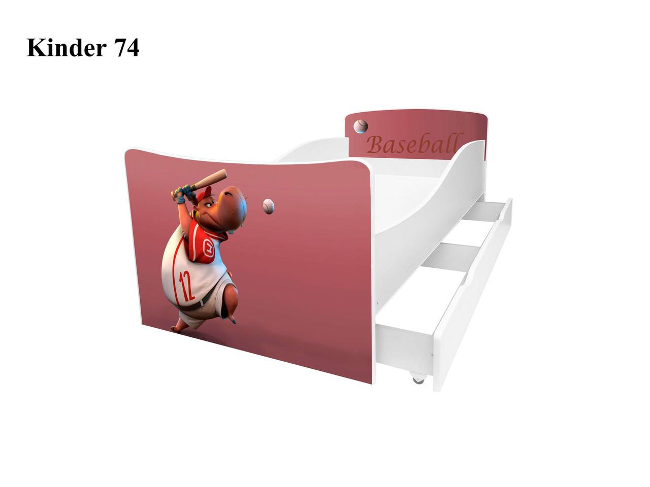 Дитяче ліжко Кіндер 74