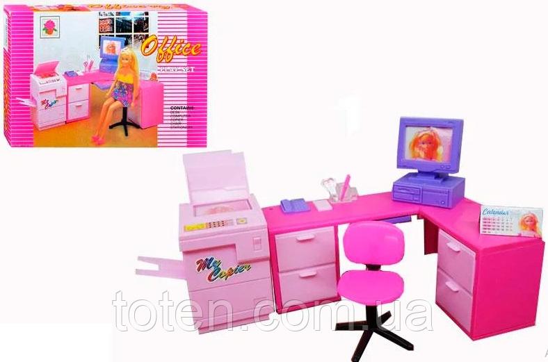 """Набор кукольной мебели Gloria 96014 """"Офис"""""""