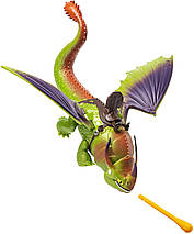 Подвижная игрушка Крушиголов и Эрет (Eret & Skullcrusher) из мультфильма Как приручить дракона Spin Master, фото 3