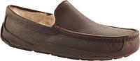 Угги-мокасины мужские оригинальные UGG Ascot Leather коричневые, фото 1