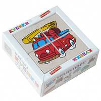 "Кубики ""Сложи рисунок: Транспорт"", Komarovtoys"