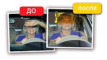 Антибликовый козырек для авто HD Vision Visor Козырек солнцезащитный для автомобиля Аксесуари для авто, фото 3