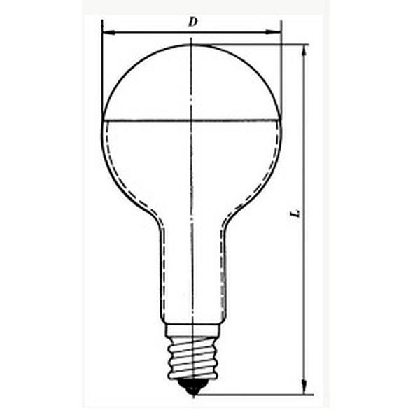 Лампа розжарювання дзеркальні ЗШ 220-300 Е40