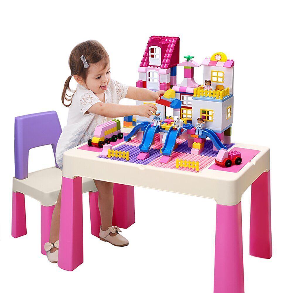 Детский игровой столик и стульчик PP-002P