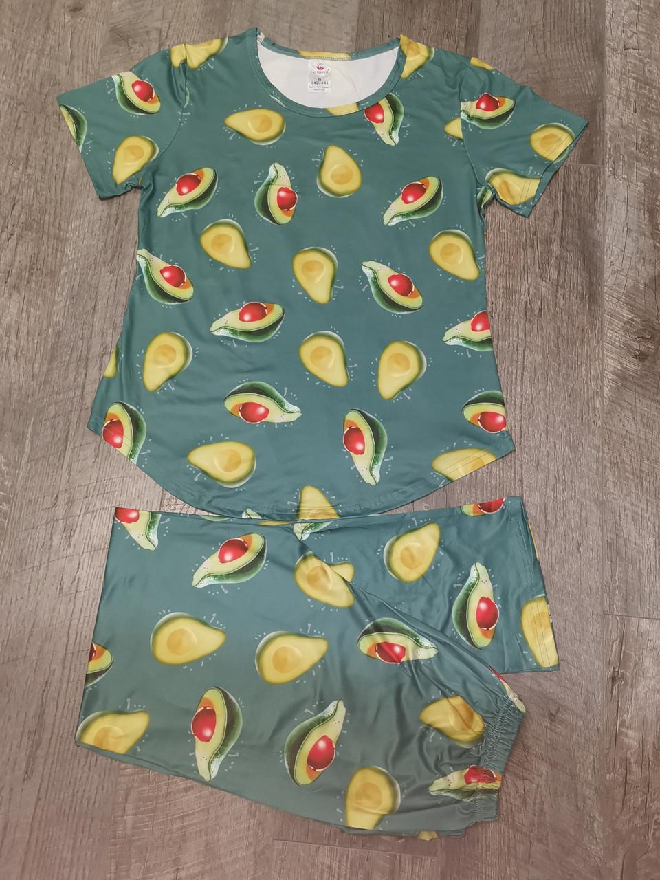 Женская пижама футболка + штаны