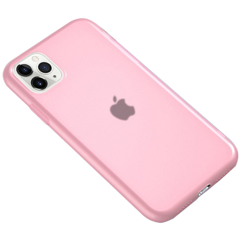 """Чехол Apple iPhone 11 Pro Max (6.5""""), силиконовый, матовый, полупрозрачный"""