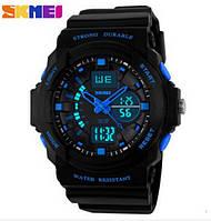 Часы Skmei 0955 Black-Blue