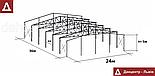 Ангар 24х36х5 - під Склад, Сто, Цех, Зерносховище, фото 2