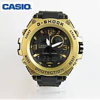 CASIO G-SHOCK GST-1000 Black/Gold. Репліка