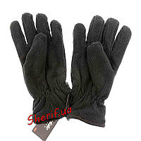 Перчатки флисовые зимние теплые двухслойные Thinsulate 40g Reis Черный
