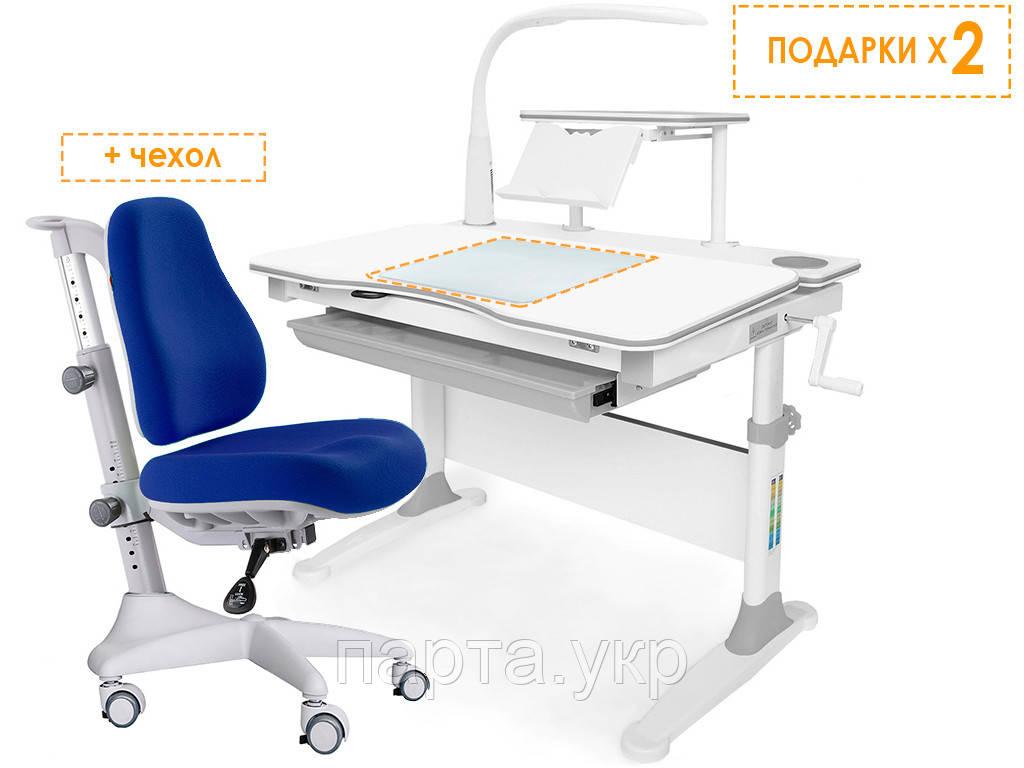 Комплект парта и кресло Evo-30 New, разные цвета