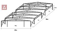 Ангар под самолеты, специальная разработка.