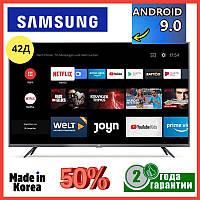 Телевизор 2020 года Samsung 42 дюйма Ultra HD 4K Android9 WIFI T2 Смарт тв Самсунг Корея