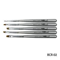 Набор кистей BCR-02 для китайской росписи (нейлон, 5 шт)