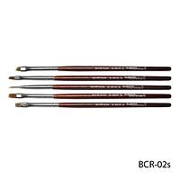 Набор кистей BCR-02S для китайской росписи (нейлон, 5 шт)