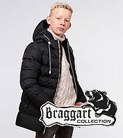 Зимняя детская куртка Braggart Kids, черная