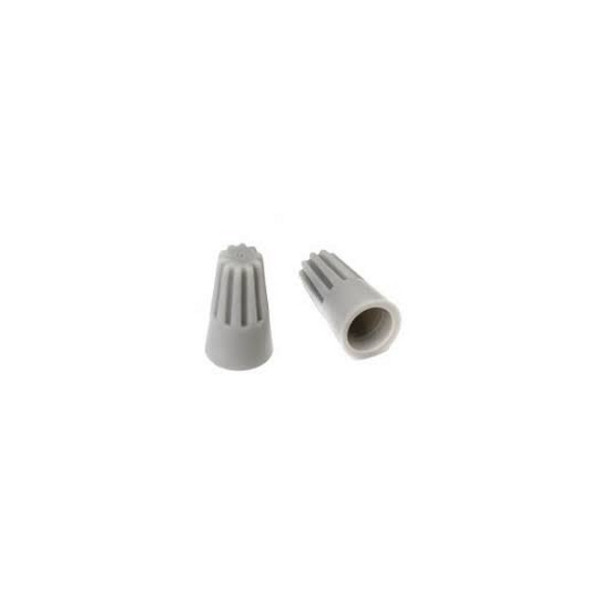 Колпачки для скрутки кабеля P1 (серые) = 2*1,5 кв мм (100шт)
