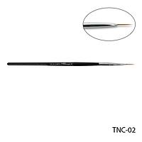 Кисть TNC-02 - №2 длинная для росписи (нейлон)
