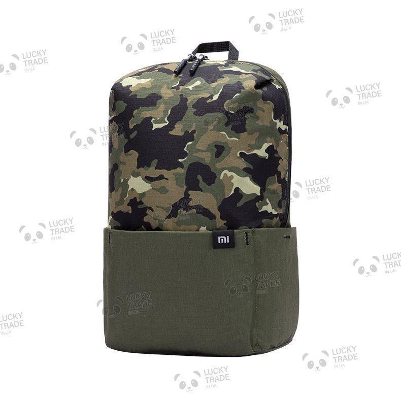 Рюкзак с рисунком Xiaomi Mi Colorful Small Backpack Камуфляж - Хаки / Черный (XBB01RM ZJB4186CN) [2034]