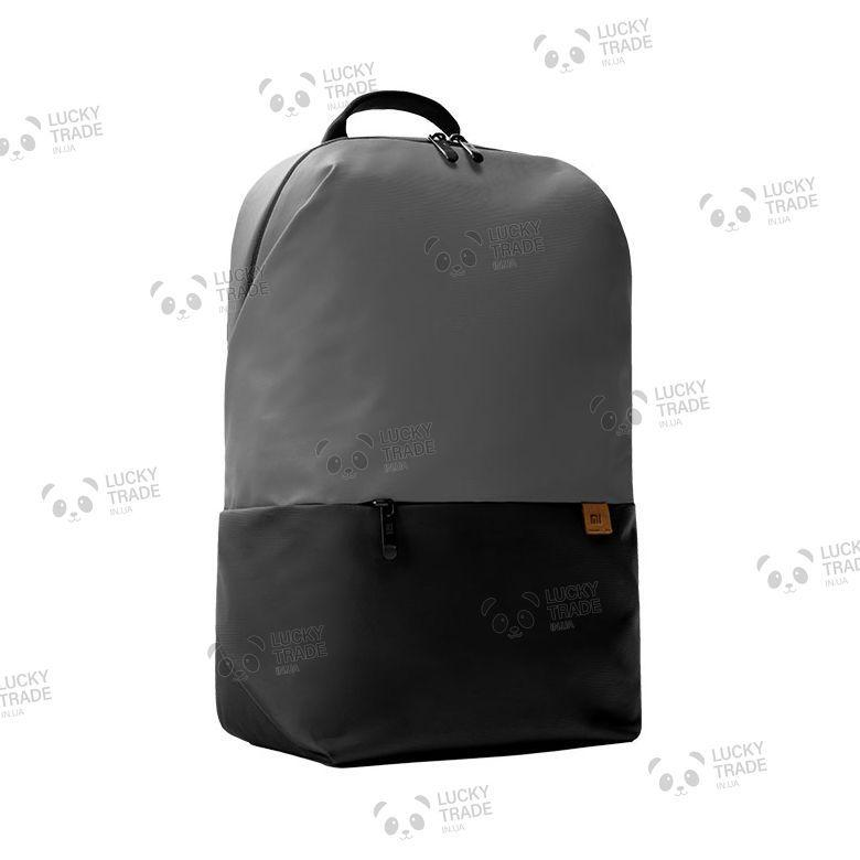 Рюкзак Xiaomi Simple Casual Backpack Серый / Черный (XXB01LF) [2249]
