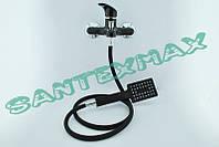 Смеситель для ванны из термопласта Plamix Afina 009-3 black, фото 1